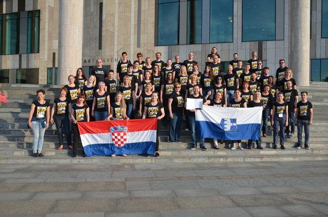 """HPD """"Lipa"""" iz Osijeka zaslužila titulu svjetskih zborskih laureata s najvišom pohvalom"""