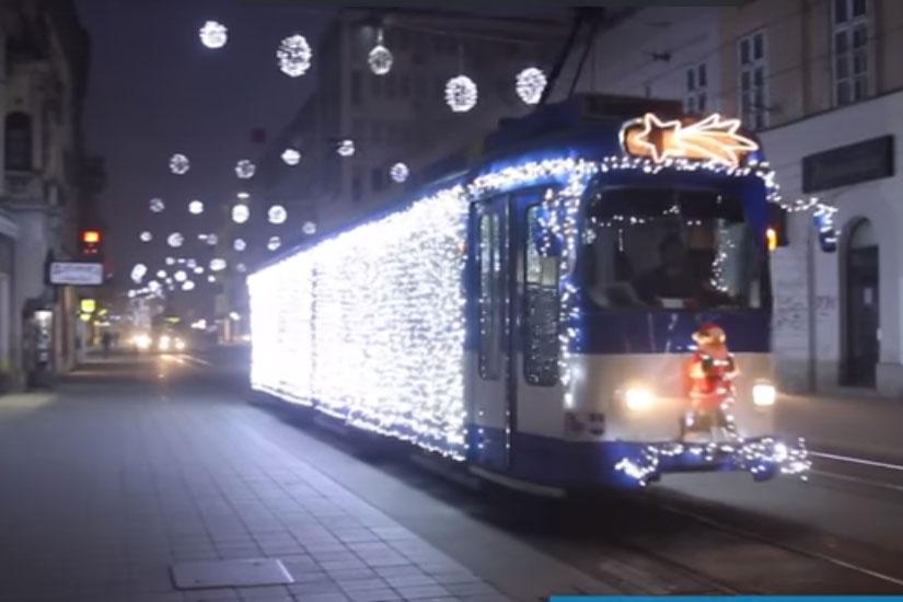 Piše OsijekNEWS: Počinje Božićna bajka u Osječkom tramvaju