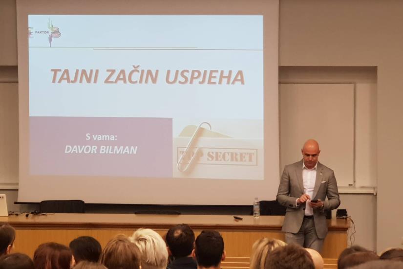 "Davor Bilman jučer u našem gradu predstavio svoj ""Skener osobnosti"""