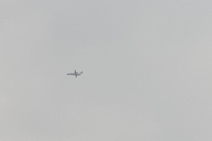 Zašto već dva dana avion neprestano kruži iznad Osijeka i Slavonije?