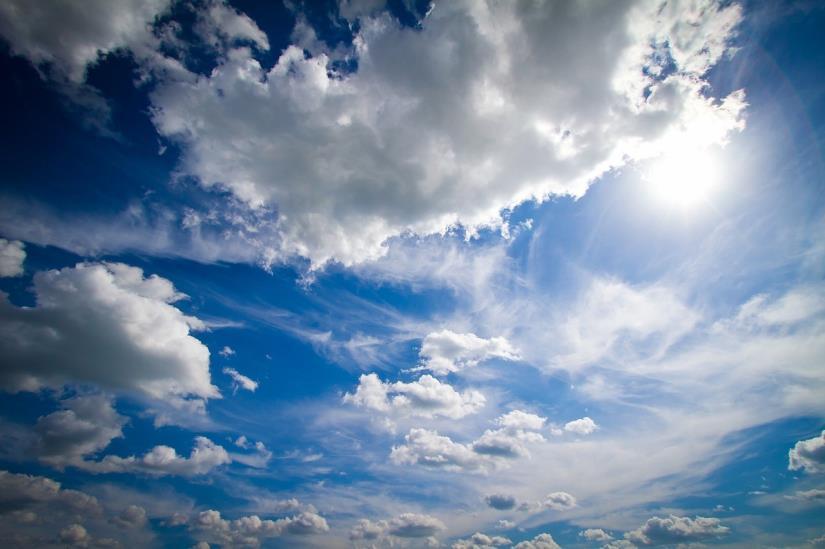 Vrijeme djelomice sunčano uz promjenljivu naoblaku