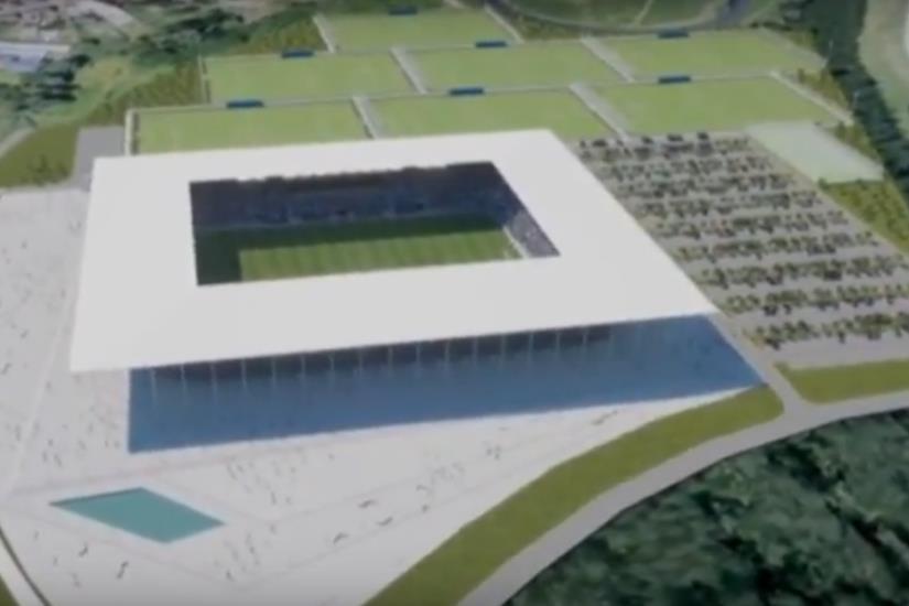 Sljedeći tjedan se nastavljaju radovi na izgradnji stadiona
