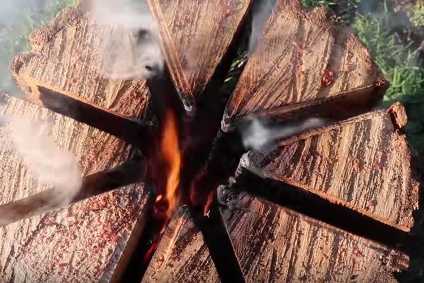 'Frka' s drvima!? Kako s jednom cjepanicom skuhati grah?