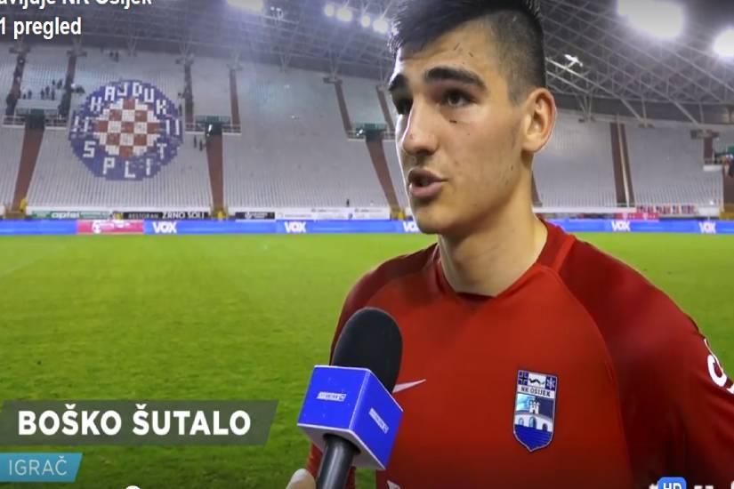 Šutalo je nova snaga NK Osijeka!