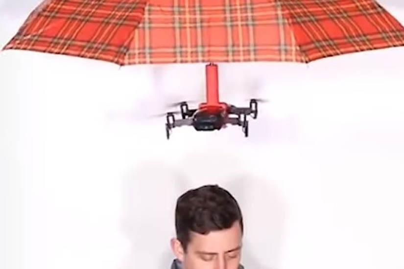 Kakvi beskorisni izumi! Prst za čačkanje nosa, dron koji nosi kišobran :D