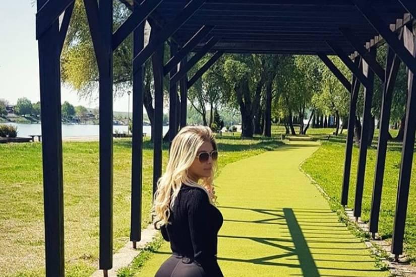 Lucija Baban prošetala Osijekom
