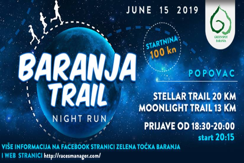 Baranja trail – Night run