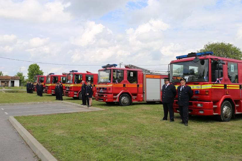 Donacija šest vatrogasnih vozila