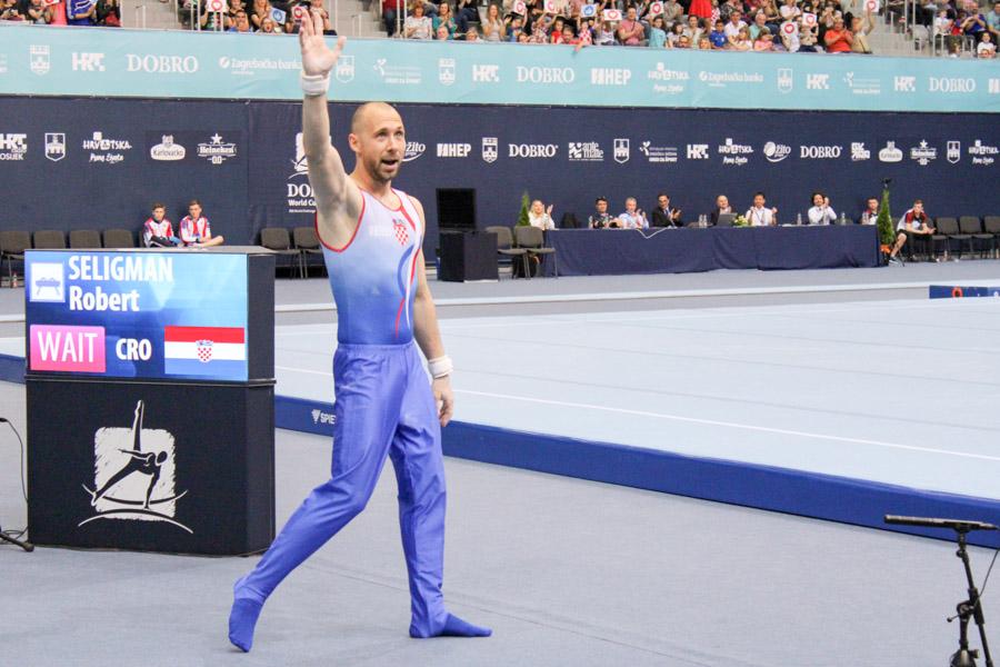 FOTO: Prvi dan gimnastičkog finala – DOBRO World Cup Osijek