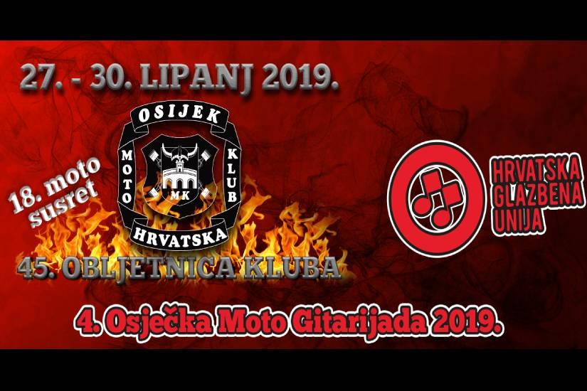 4. Osječka Moto Gitarijada 2019.
