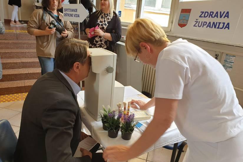 Otvorena specijalistička oftalmološka ordinacija u Domu zdravlja Osijek
