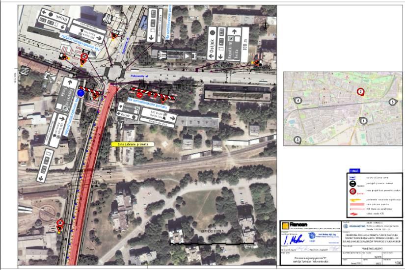 Privremena regulacija prometa na rekonstrukciji Ulice kneza Trpimira