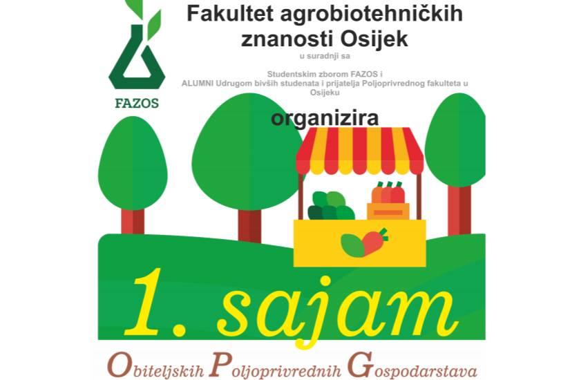 1. sajam Obiteljskih Poljoprivrednih Gospodarstava