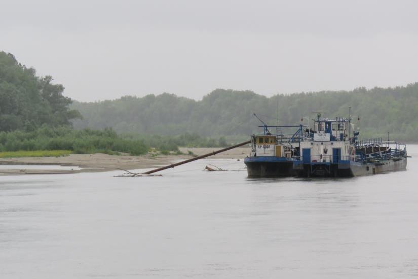 Iskapanje sedimenta na Dravi se nastavlja, sud odbio privremenu mjera zaustavljanja radova!