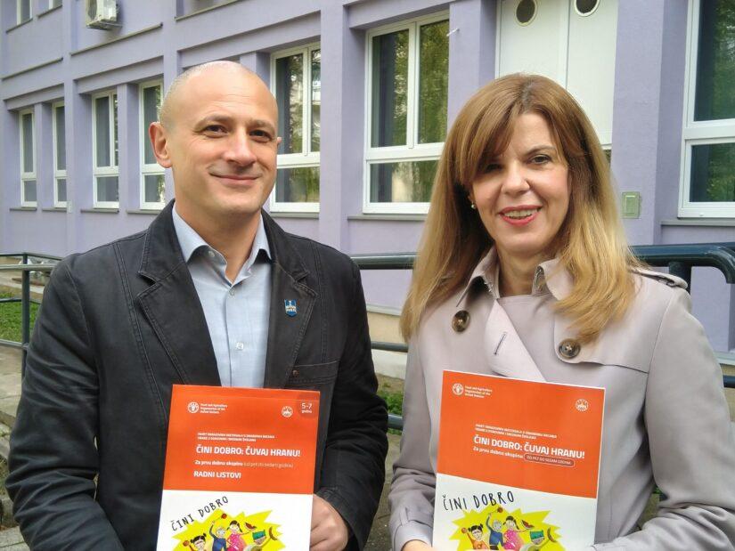 Djeca Osijeka će biti mali ambasadori FAO-a u borbi protiv bacanja hrane