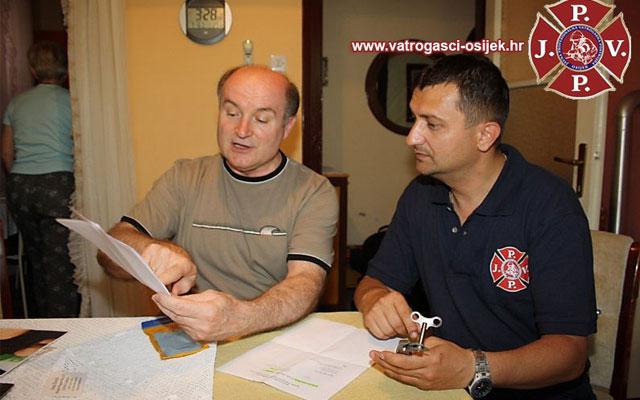 Zahvala na donaciji JPVP Osijek