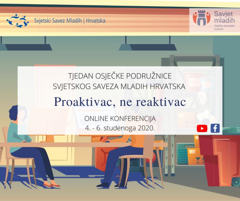 SSMH Tjedan u Osijeku – U srijedu počinje konferencija o poduzetništvu
