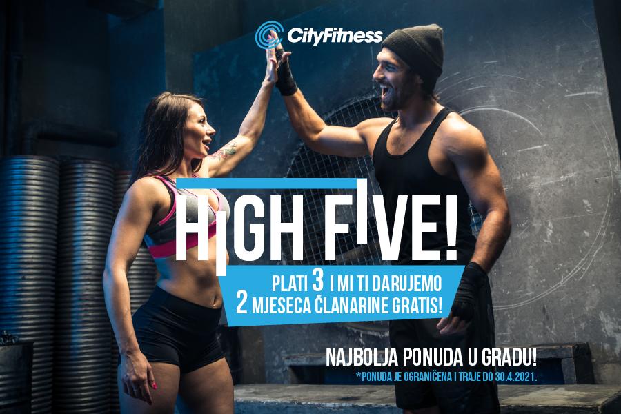 Baci pet za najbolju High Five ponudu u gradu!
