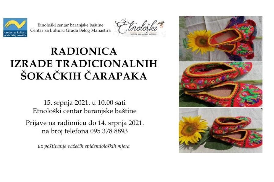 Radionica izrade i izložba baranjskih šokačkih čarapaka